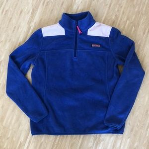 Vineyard Vines fleece quarter zip